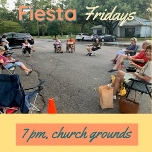 Fiesta Fridays 7 pm @ First Congregational Church of Houston